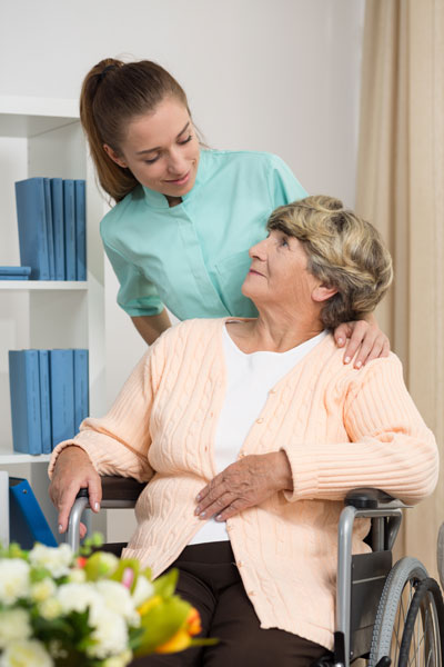 disabled-woman-talking-with-nurse