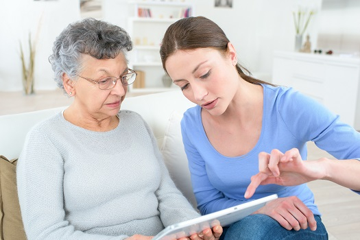 Helping Your Senior Parent Stay Safe on the Web in calgary, CA